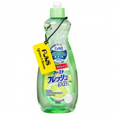 Funs Жидкость для мытья посуды свежий лайм 600 мл