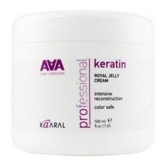 Kaaral, Крем-маска Keratin Royal Jelly Cream AAA, питательная, 500 мл