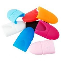 IRISK, Колпачки силиконовые для снятия искусственных покрытий, 10 шт.