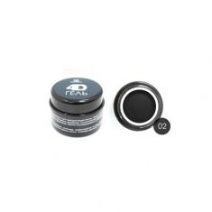 TNL, 4D-гель для дизайна ногтей №2, черный TNL Professional