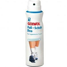 Gehwol, fub+schuh deo, дезодорант для ног и обуви, 150 мл