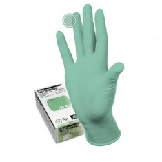 перчатки manual np-409 m neoprene неопреновые неопудренные гипоаллергенные светло-зеленый Одноразовая продукция для салонов красоты