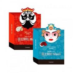 маска тканевая для лица berrisom peking opera mask series