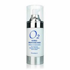 маска кислородная для лица осветляющая deoproce o2 bubble brightening mask