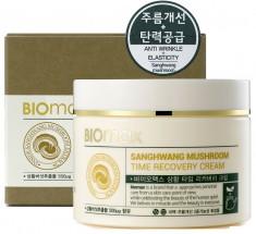 антивозрастной крем с экстрактом санхван biomax sanghwang mushroom time recovery cream