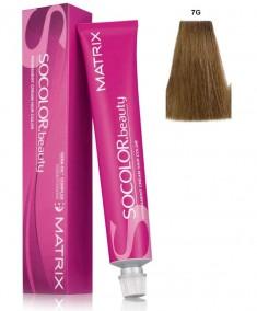 MATRIX 7G краска для волос, блондин золотистый / СОКОЛОР БЬЮТИ 90 мл