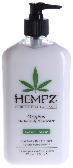 HEMPZ Молочко увлажняющее оригинальное для тела / Herbal Moisturizer 500 мл