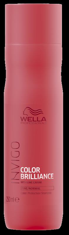 WELLA PROFESSIONALS Шампунь для защиты цвета окрашенных нормальных и тонких волос / Brilliance 250 мл