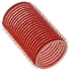 SIBEL Бигуди-липучки красные 36 мм 12 шт/уп