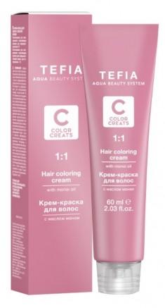 TEFIA 8.00 краска для волос, светлый блондин интенсивный / Color Creats 60 мл