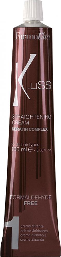 FARMAVITA Крем выпрямляющий с кератином / K.LISS Straightening cream 100 мл