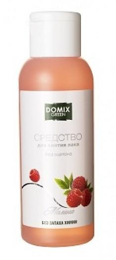 DOMIX GREEN PROFESSIONAL Средство без ацетона и запаха химии для снятия лака Малина / DG 105 мл