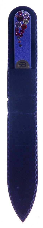 BHM PROFESSIONAL Пилочка стеклянная цветная, капля 135 мм BOHEMIA PROFESSIONAL