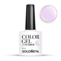 SOLOMEYA Гель-лак для ногтей SCG124 Розоватый / Color Gel Pinkish 8,5 мл