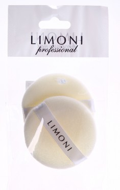 LIMONI Спонж для компактной пудры 2 шт