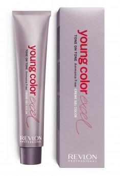 REVLON Professional 6-21 крем-гель полуперманентный, ореховый (кофе с молоком) / YOUNG COLOR EXCEL 70 мл