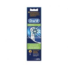 ORAL-B Сменные насадки для электрической зубной щетки Oral-B CrossAction 2 шт.