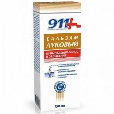 911 Шампунь Луковый от выпадения волос и облысения 150мл N1