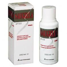 Саугелла мыло жидкое для интимной гигиены для мужчин 250мл Saugella