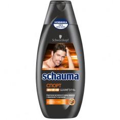 Шампунь-гель для душа SCHAUMA СПОРТ для волос и тела 380 мл