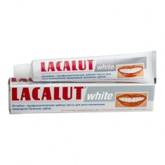 Лакалют зубная паста Уайт 75мл LACALUT