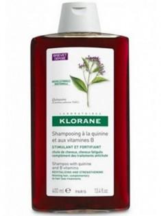 Клоран (Klorane) Шампунь с экстрактом хинина и витаминами группы В укрепляющий 400 мл