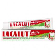 Лакалют зубная паста АКТИВ Хербал 50 мл LACALUT