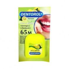 Dentorol зубная нить Лимон 65 м