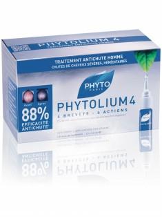 Фитосольба Фитолиум 4 Сыворотка против выпадения волос 12 ампул X 3,5 мл