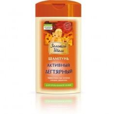 Золотой шелк шампунь активный дегтярный для проблемной кожи 250мл ЗОЛОТОЙ ШЕЛК