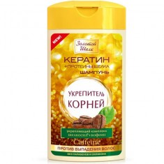 Золотой шелк шампунь укрепитель корней против выпадения волос 250мл ЗОЛОТОЙ ШЕЛК