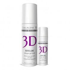 Коллаген 3Д Гель-маска для лица BOTO LINE с Syn®-ake комплексом коррекция мимических морщин 130 мл Collagene 3D
