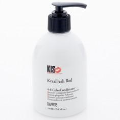 KIS KERAFRESH COLOR Кератиновый питательный тонирующий кондиционер (красный) 250 мл