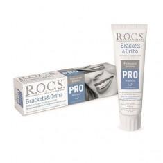 Рокс PRO brackets ortho зубная паста 135г ROCS