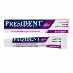 Президент Exclusive зубная паста 100мл N1 туба President