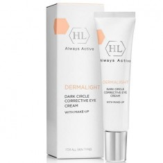 Холи Лэнд/Holy Land Dermalight Dark Circle Corrective Eye Cream make-up корректирующий крем с тоном 15мл