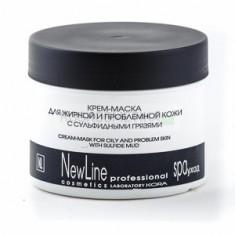 Крем-маска для жирной и проблемной кожи, 300 мл (New Line)