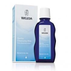 Нежное очищающее молочко для нормальной и сухой кожи, 100 мл (Weleda)