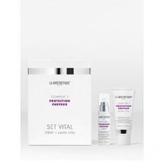 Витализирующий дует с мощным молекулярным комплексом защиты волос. Комплекс 3, 1 шт. (La Biosthetique)