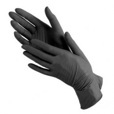 Перчатки нитриловые, черные, 100 шт., L (Чистовье) ЧИСТОВЬЕ