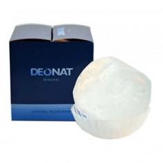 Дезодорант кристалл природный в подарочной коробочке, 155 г (DeoNat)