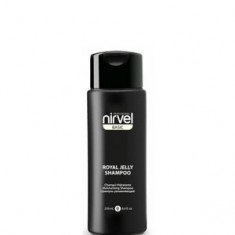 Шампунь с пчелиным маточным молочком увлажняющий для сухих и окрашенных волос, 250 мл (Nirvel)