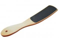 STALEKS Терка для стоп деревянная (100/180) / A7-11 (ТД-02) BEAUTY & CARE 10 TYPE 2