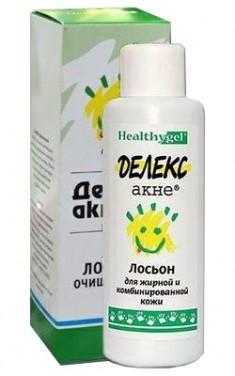 Делекс-Акне лосьон для жирной и комбинированной кожи 100 мл