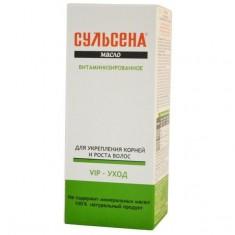 Сульсена масло витаминизированное для укрепления корней и роста волос 100 мл MIRROLLA