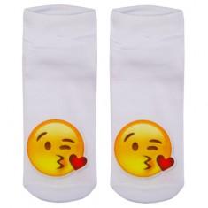 Носки женские SOCKS Little emoji Kiss р-р единый
