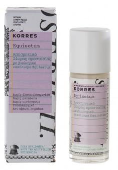 KORRES Дезодорант 24 часа с экстрактом хвоща для очень чувствительной кожи после депиляции 30 мл
