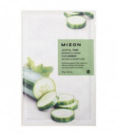 Тканевая маска с огурцом MIZON Joyful Time Essence Mask Cucumber 23г