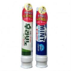 зубная паста с помпой clio pump toothpaste