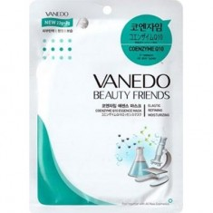 Стимулирующая кожу маска для лица с коэнзимом Q10 Beauty Friends ALL NEW COSMETIC